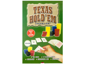 Wholesale: Texas Hold 'Em Poker Set