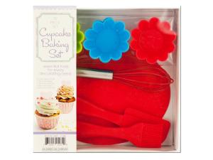 Wholesale: Silicone Cupcake Baking Set