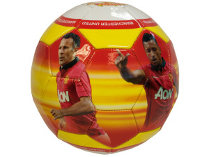 Manchester Photo PVC Soccer Ball