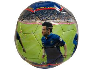 France Photo PVC Soccer Ball