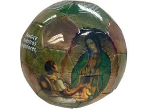 Virgin Mary Photo PVC Soccer Ball