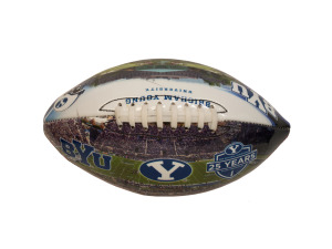 Brigham Young University Deflated Football