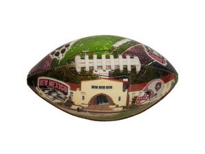 University of New Mexico Deflated Football