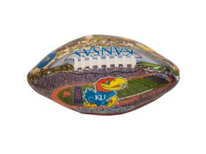 University of Kansas Deflated Football