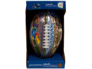 Kansas inflated football