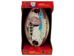 Texas Tech Inflated Collectible PVC Football