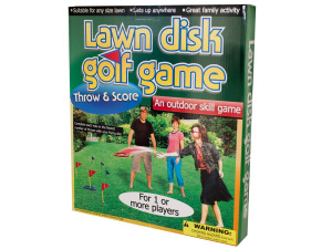Wholesale: Lawn Disc Golf Game