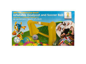 Wholesale: Inflatable Goalpost and Soccer Ball