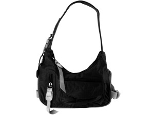 Black handbag w/trim 4217