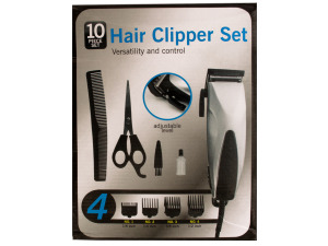 Wholesale: Hair Clipper Set with Precision Steel Blades