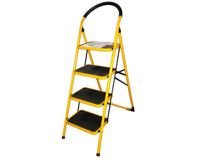 Wholesale: 4 Step Ladder with Oversize Steps