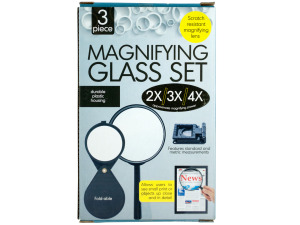 Wholesale: Scratch Resistant Magnifying Glass Set