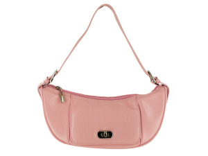 Pink Handbag with Pockets