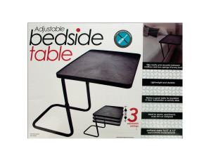 Multi-Purpose Adjustable Bedside Table