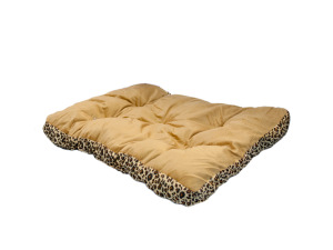 Wholesale: Rectangular Leopard Print Pet Bed