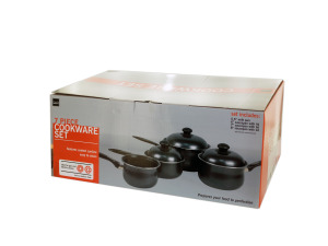 Wholesale: Steel Non-Stick Saucepan Cookware Set