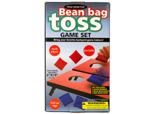 Wholesale: Portable Mini Desktop Bean Bag Toss Game Set