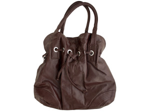Large Dark Brown Handbag