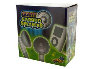 Wholesale: Giant Earbud Speakers