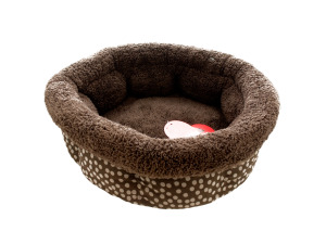 Wholesale: Small Polka Dot High Wall Pet Bed