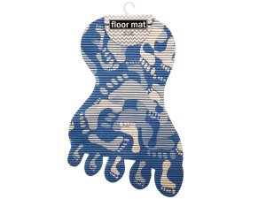 Foot Shaped Floor Mat