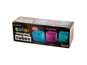 Wholesale: Color Changing Light Cubes Set