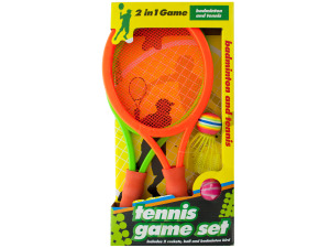 Wholesale: 2 in 1 Badminton and Tennis Game Set