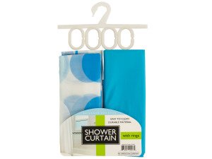 Shower Curtains & Rings Set