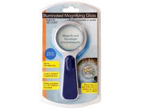 Wholesale: Pocket-size Illuminated Magnifying Glass