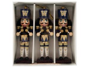 University of Washington Nutcracker Ornament Set