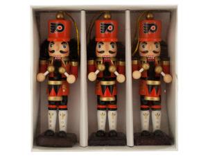Philadelphia Flyers Nutcracker Ornament Set