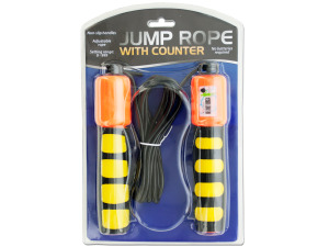 Jump Rope with Counter & Non-Slip Handles