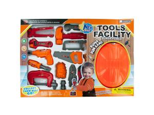 Wholesale: Tool Play Set with Helmet
