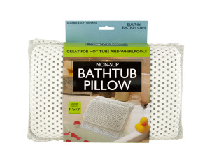 Wholesale: Non-Slip Bathtub Pillow with Suction Cups