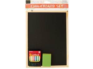 Wholesale: Wooden Chalkboard Set