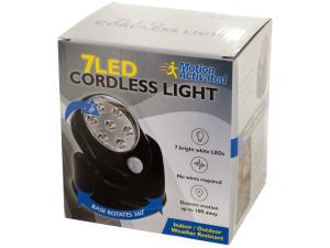 Wholesale: 7 LED Rotatable Cordless Light