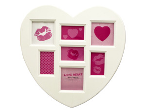 Heart Collage Photo Frame