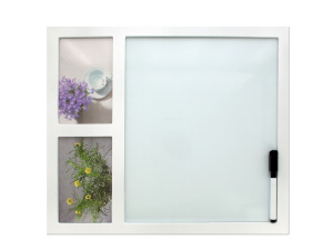 White Board Photo Frame