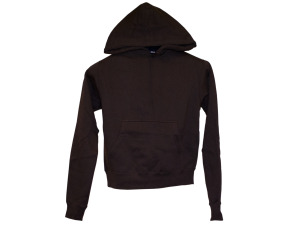 Boys' Large Cocoa Brown Pullover Hoodie