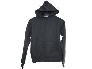 Extra Small Charcoal Heather Grey Pullover Hoodie