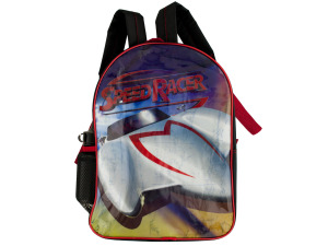Speed Racer Backpack with Water Bottle
