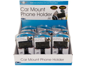Car Mount Cell Phone Holder Countertop Display