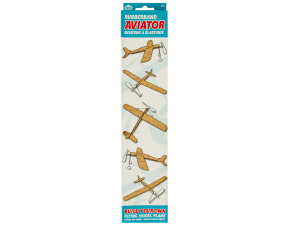 Wholesale: Rubber Band Aviator Flying Model Plane
