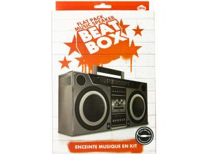 Wholesale: Flat Pack Music Speaker Beat Box