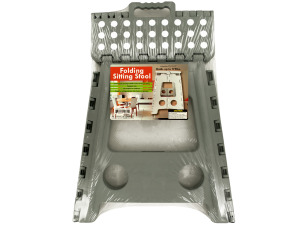 Wholesale: Folding Sitting Stool with Carrying Handle