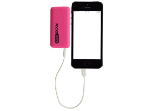 Pink Pocket Juice Rechargeable Power Bank