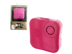 Wholesale: X-Sticker Pink Vibration Speaker