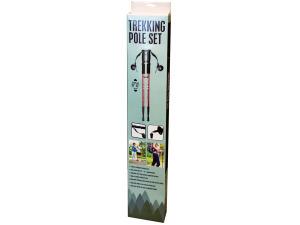 Aluminum Trekking Pole Set with Compass