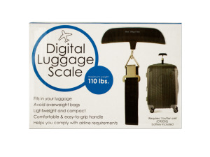 Wholesale: Digital Luggage Scale with Easy Grip Handle
