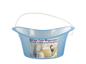 Wholesale: Oval Bath Organizer Caddy with Rope Handle